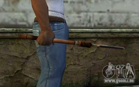 Sapeur Pelle (Battlefield: Vietnam) pour GTA San Andreas troisième écran