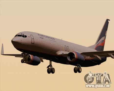 Boeing 737-8LJ Aeroflot - Russian Airlines pour GTA San Andreas