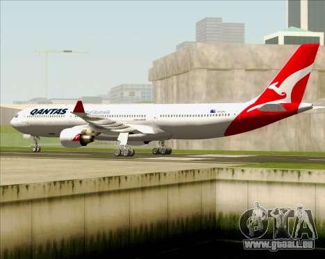 Airbus A330-300 Qantas (New Colors) pour GTA San Andreas vue arrière