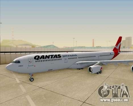 Airbus A340-300 Qantas pour GTA San Andreas