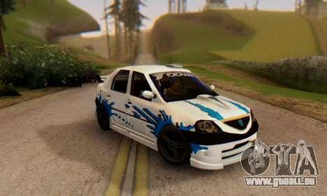 Dacia Logan Tuning für GTA San Andreas