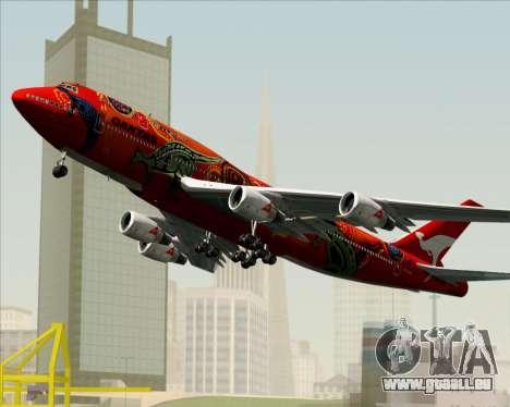 Boeing 747-400ER Qantas (Wunala Dreaming) für GTA San Andreas