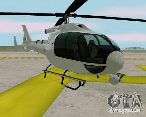 Maibatsu Frogger V1.0 pour GTA San Andreas sur la vue arrière gauche