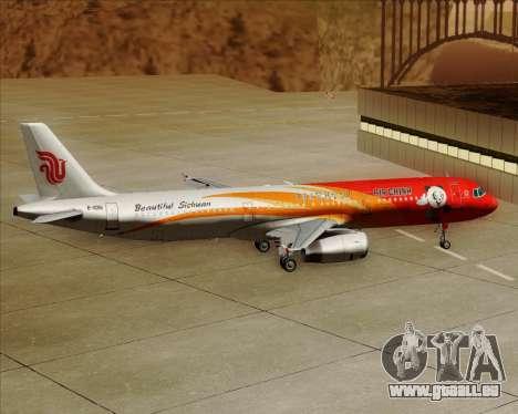 Airbus A321-200 Air China (Beautiful Sichuan) für GTA San Andreas