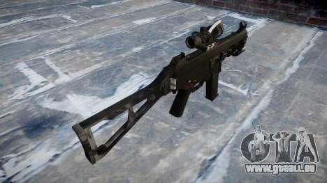 Pistolet UMP45 Kryptek Combats pour GTA 4 secondes d'écran