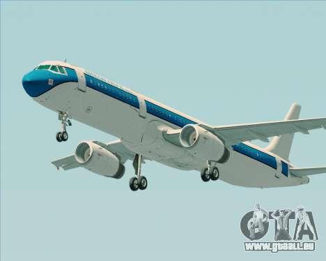 Airbus A321-200 American Pacific Airways pour GTA San Andreas sur la vue arrière gauche