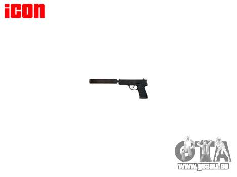 Gun QSZ-92 Schalldämpfer für GTA 4 dritte Screenshot