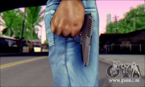 SR-1 Gyurza pour GTA San Andreas troisième écran