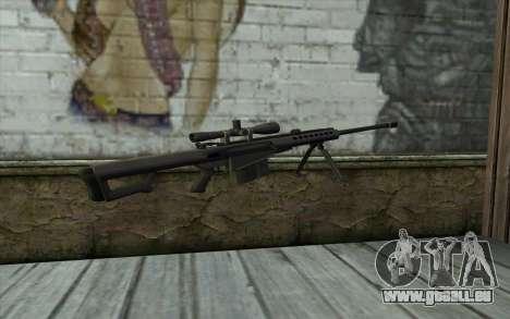 M107 für GTA San Andreas zweiten Screenshot