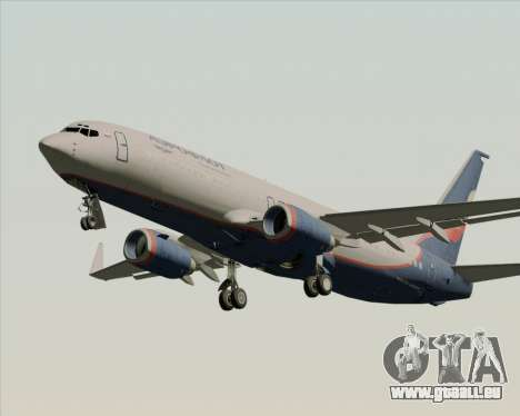 Boeing 737-8LJ Aeroflot - Russian Airlines pour GTA San Andreas roue