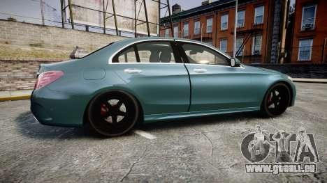 Mercedes-Benz C250 pour GTA 4 est une gauche