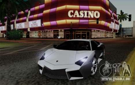 Lamborghini Reventon 2008 pour GTA San Andreas