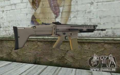 MK 16 SCAR pour GTA San Andreas deuxième écran