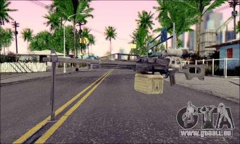 Panneau de contrôle Pecheneg (ArmA 2) pour GTA San Andreas