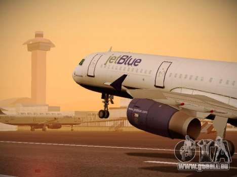 Airbus A321-232 jetBlue Do-be-do-be-blue pour GTA San Andreas