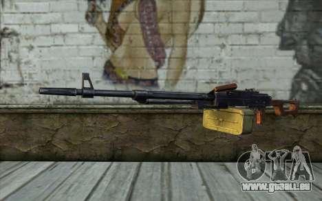 La Mitrailleuse Kalachnikov Modernisé pour GTA San Andreas