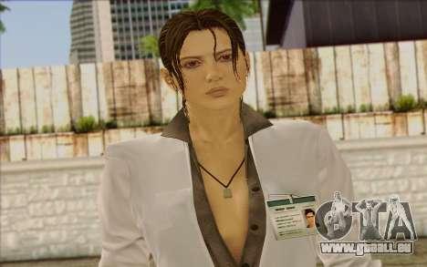 Metal Gear Solid 4 Naomi Hunter für GTA San Andreas dritten Screenshot