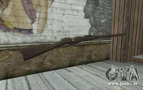 Mosin-v2 pour GTA San Andreas deuxième écran