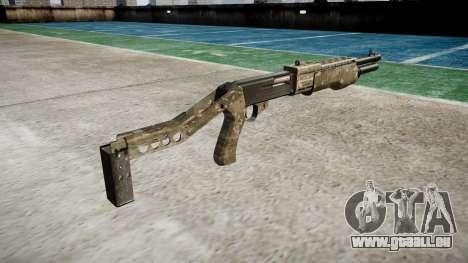 Ружье Franchi SPAS-12 DEVGRU pour GTA 4 secondes d'écran