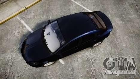 Dodge Dart 2013 Undercover [ELS] für GTA 4 rechte Ansicht