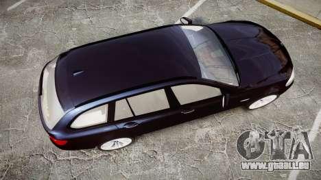 BMW 530d F11 Unmarked Police [ELS] pour GTA 4 est un droit