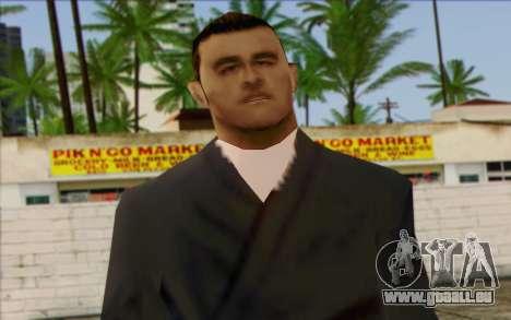 Membre de la brigade AI la Peau 4 pour GTA San Andreas troisième écran