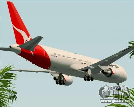 Boeing 767-300ER Qantas (Old Colors) pour GTA San Andreas vue de côté