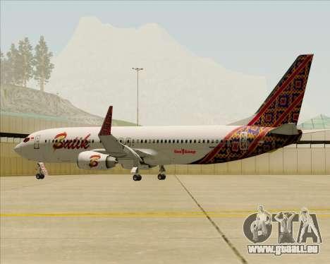 Boeing 737-800 Batik Air pour GTA San Andreas moteur