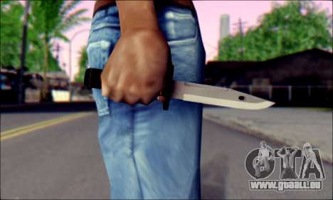Knife from Death to Spies 3 für GTA San Andreas dritten Screenshot