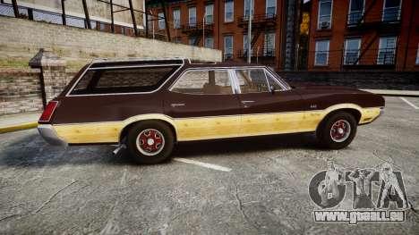 Oldsmobile Vista Cruiser 1972 Rims2 Tree5 pour GTA 4 est une gauche