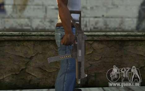 UMP45 from Spec Ops: The Line für GTA San Andreas dritten Screenshot