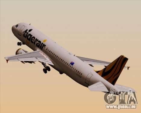 Airbus A320-200 Tigerair Australia pour GTA San Andreas
