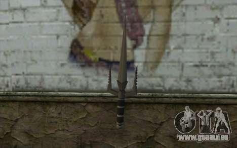 Knife from Deadpool für GTA San Andreas