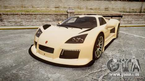 Gumpert Apollo S 2011 pour GTA 4