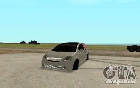 Citroen C2 pour GTA San Andreas