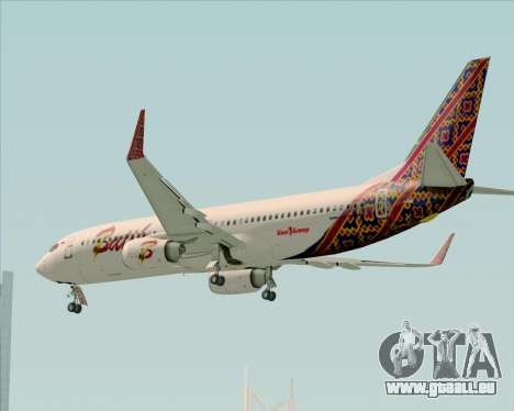 Boeing 737-800 Batik Air pour GTA San Andreas salon