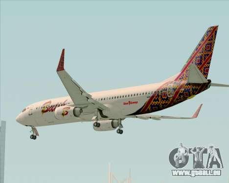 Boeing 737-800 Batik Air pour GTA San Andreas salon