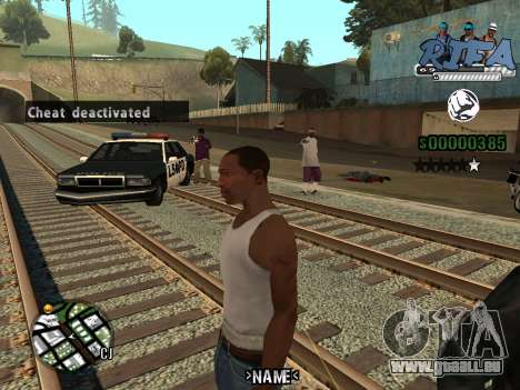C-HUD Rifa für GTA San Andreas zweiten Screenshot