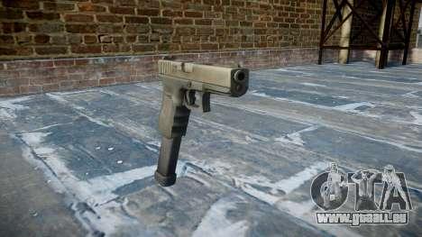 Pistole Glock 18 für GTA 4