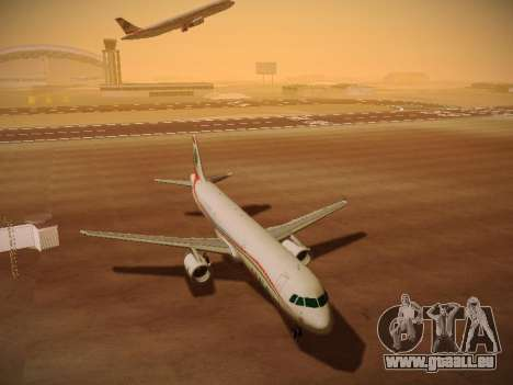 Airbus A321-232 Middle East Airlines für GTA San Andreas linke Ansicht