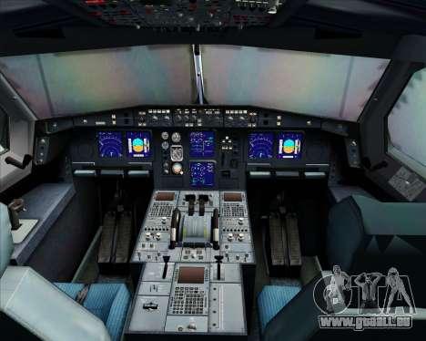 Airbus A340-300 Qantas pour GTA San Andreas salon