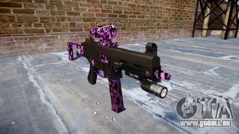 Pistolet UMP45 Party Rock pour GTA 4