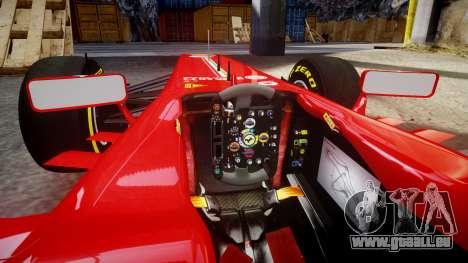 Ferrari F138 v2.0 [RIV] Massa TSD für GTA 4 Innenansicht