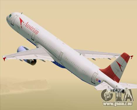 Airbus A321-200 Austrian Airlines pour GTA San Andreas