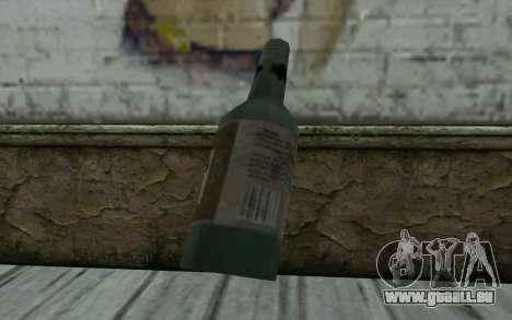 Une bouteille de bière pour GTA San Andreas