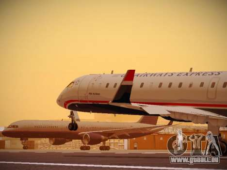 Bombardier CRJ-700 US Airways Express pour GTA San Andreas
