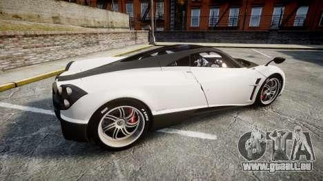Pagani Huayra 2013 [RIV] Carbon für GTA 4 linke Ansicht