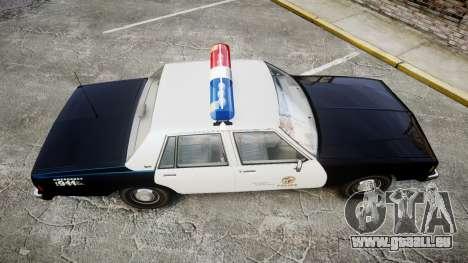 Chevrolet Impala 1985 LAPD [ELS] für GTA 4 rechte Ansicht