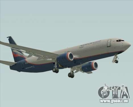 Boeing 737-8LJ Aeroflot - Russian Airlines pour GTA San Andreas laissé vue