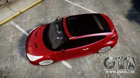 Hyundai Veloster Turbo 2012 pour GTA 4 est un droit